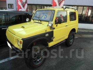 Suzuki Jimny. механика, 4wd, 0.7, бензин, 75 326 тыс. км, б/п, нет птс. Под заказ