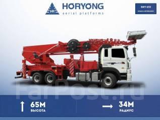 Horyong Sky. Автовышка Horyong 65 метров на шасси Daewoo, 65 м. Под заказ