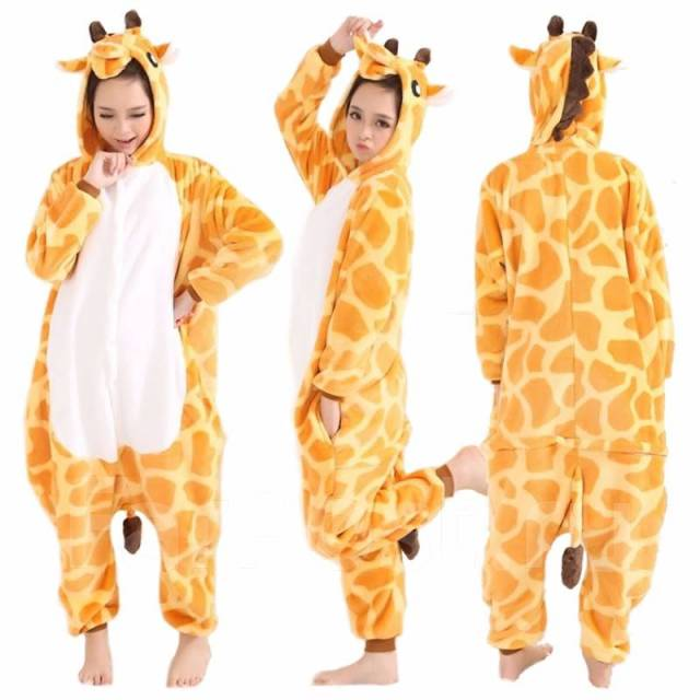 Пижама Кигуруми Жираф - Одежда для дома и сна во Владивостоке c14e18a6bb790