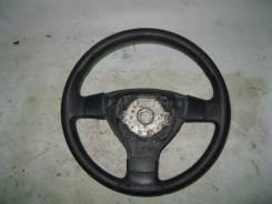 Рулевое колесо VW Passat [B6] 2005-2010 (3 Спицы КОЖА НЕ Мульти). Volkswagen Passat, 3C2, 3C5 Двигатели: CBBB, BWA, BLP, CDGA, BKP, BZB, BLR, BSF, CBA...