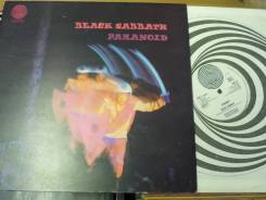 Блэк Сэббат / Black Sabbath - Paranoid - UK LP 1970 Vertigo Swirl
