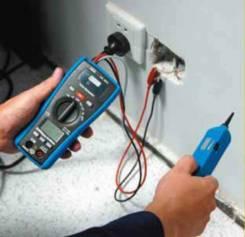 Услуги электрика. Замена розеток и выключателей. Замена проводки