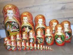 Матрешка Тойчиевой 30 мест