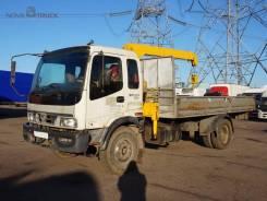 Foton Auman. Бортовой грузовик манипулятор , 5 990 куб. см., 9 250 кг.