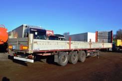 Schmitz. Полуприцеп бортовой S01. Год выпуска 2004, 33 000 кг.