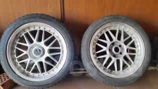 Пару колёс. 8.0x45 5x114.30 ET-34 ЦО 73,0мм.
