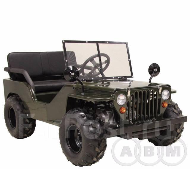 Миниджип ABM Willys 110