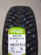 Nokian Hakkapeliitta 8. Зимние, шипованные, 2017 год, без износа, 4 шт