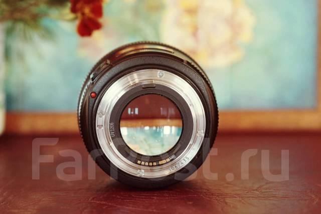 Объектив Canon ef 50 mm f1.2 L USM. Для Canon, диаметр фильтра 72 мм
