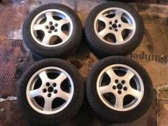 Отличный комплект колёс. 195/60R15. 7.0x15 5x100.00 ET35