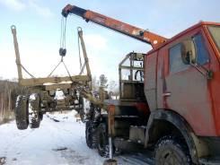 Камаз 5320. Продам лесовоз с кму unic 3T, 10 000 куб. см., 10 000 кг.