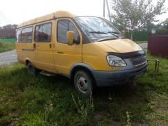 ГАЗ 3302. Газель пассажирская 13 мест, 2 400 куб. см., 13 мест