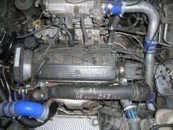 Двигатель в сборе. Toyota Tercel Toyota Starlet, EP82, EP91 Двигатели: 5EFHE, 4EFTE