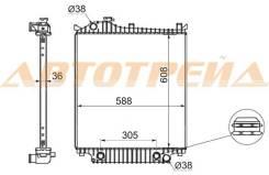 Радиатор FORD EXPLORER 07- FD0007-09
