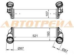 Радиатор интеркулера BMW X5/X6 E70/E71 07-