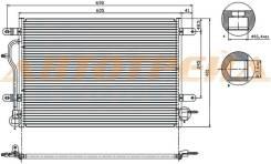 Радиатор кондиционера AUDI A4 01-07 / A6 2.0/3.0 01-04 / ALLROAD 4.2 00-06