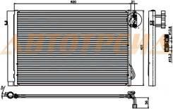 Радиатор кондиционера BMW 1-SERIES E87/3-SERIES E90/X1 E84 GASOLINE