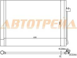 Радиатор кондиционера BMW X5 E70/X6 E71 07-