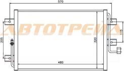 Радиатор кондиционера FIAT ALBEA/PALIO 96-05/PALIO 05-/SIENA 96-05/SIENA 05- ST-FI01-394-0
