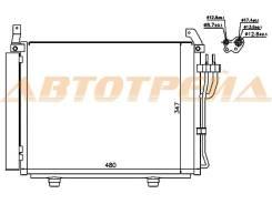 Радиатор кондиционера HYUNDAI i10 2009- ST-HN66-394-0