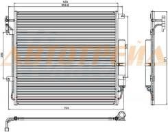 Радиатор кондиционера RANGE ROVER SPORT 3.6TD/4.2/4.4/4.4TD/5.0 06-/DISCOVERY III 4.0/4.4 04-