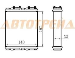 Радиатор отопителя салона MITSUBISHI LANCER/LIBERO 92-00/COLT 92-96/NISSAN SERENA C23 92-00/TERRAN I