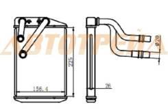 Радиатор отопителя салона FIAT DUCATO/PEUGEOT BOXER/CITROEN JUMPER 06- ST-PG10-395-0