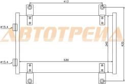 Радиатор кондиционера CITROEN JUMPER/FIAT DUCATO/PEUGEOT BOXER 94- ST-PG94-394-0