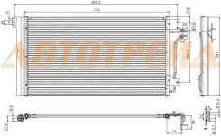 Радиатор кондиционера VW TRANSPORTER T5 03-