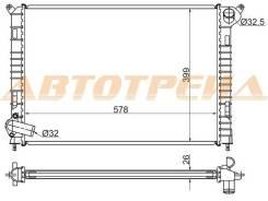 Радиатор MINI COOPER 1.6 01-06 BW000-MINI