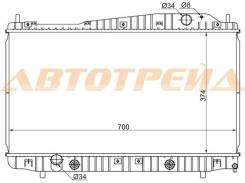 Радиатор DAEWOO MAGNUS/CHEVROLET EVANDA 1.8/2.0 02-/TOSCA/EPICA 2.0/2.5 06-