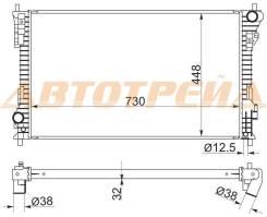 Радиатор FORD EXPLORER 11- FD0012
