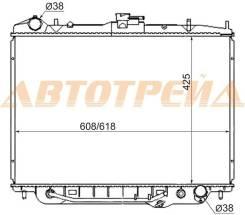 Радиатор ISUZU BIGHORN/TROOPER/RODEO/OPEL MONTEREY 3.2 V6 6VD1 98-02 GASOLINE