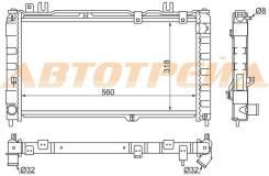 Радиатор LADA GRANTA 12-(трубчатый)
