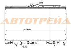 Радиатор MITSUBISHI LANCER CEDIA 1.5/2.0 00-03/ LANCER IX 1.3/1.6/2.0 03-07 (пластинчатый)