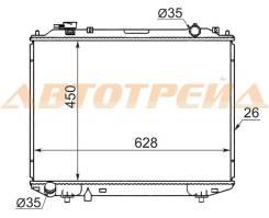 Радиатор MAZDA B2500/BT50/PROCEED MARVIE 96-99/FORD RANGER 2.5D/2.5TD/2.9D 98- 2.5TD/3.0TD 06-
