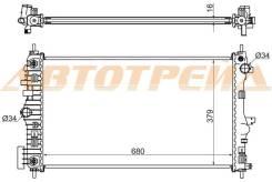 Радиатор OPEL INSIGNIA 2.0T (бензин) 08-