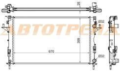 Радиатор RENAULT LAGUNA 1.6/1.8/1.9D/2.0/2.0T/2.2 01-07 // ESPACE (02-)/VEL SATIS 1.9D/2.0T/2.2D RN0003-02