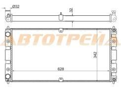 Радиатор CHEVROLET NIVA 02-