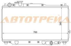 Радиатор KIA SPECTRA/SEPHIA/SHUMA/MENTOR 1.5/1.6 96-(трубчатый)
