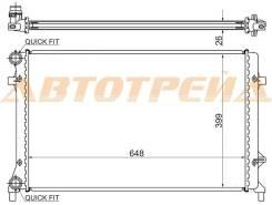 Радиатор AUDI A3/S3 1.6/1.8/2.0 03-/VW GOLF V/JETTA/CADDY 1.4/1.6/2.0/2.5 05-/VW PASSAT B6/TOURAN/EO