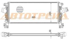 Радиатор интеркулера CHEVROLET CRUZE/OPEL ASTRA J 09- A/T