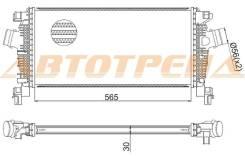 Радиатор интеркулера CHEVROLET CRUZE/OPEL ASTRA J 09- M/T ST-1302144