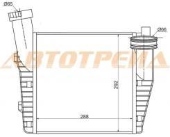 Радиатор интеркулера AUDI Q7 06-/PORSCHE CAYENNE 02-/VOLKSWAGEN TOUAREG 02-(левый)