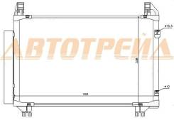 Радиатор кондиционера TOYOTA VITZ/BELTA/YARIS 05-