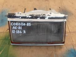 Фара правая Toyota Corolla AE-81.
