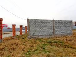 Продается участок 16.3 сотки на красной линии - ул. Краснодарская. 1 630 кв.м., собственность, электричество, вода, от агентства недвижимости (посред...