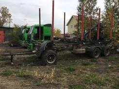 Jyki. Лесовозный прицеп, 39 000 кг.
