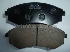 Колодки тормозные передние SsangYong Musso 97-05, Korando 97-05, Musso Sports 02- (без ABS) (Hi-Q) 4813005012, 4813005010, 4813005011, 5810128A20, 581...