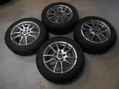 Комплект зимних колес в отличном состоянии б/п по РФ. 6.5x16 5x114.30 ET48 ЦО 73,1мм.